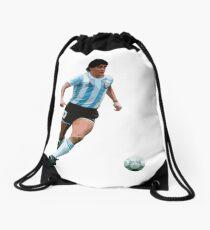 Diego Maradona (Argentina) Drawstring Bag