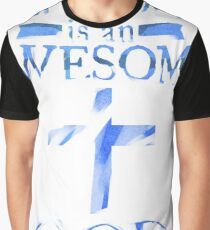 My God is An Awesome God Christian T shirt  Graphic T-Shirt