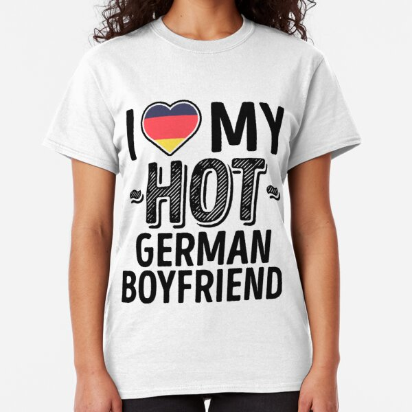 German Shepherd Dog Printed T-Shirt Shirt Tee Tshirt Cool Cute GF Wife BF Pup