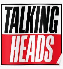 Talking Heads - logo Poster