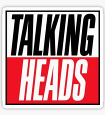 Talking Heads - logo Sticker