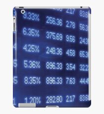 numbers, screen iPad Case/Skin