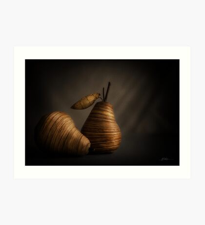 A Still Life with Pears Art Print