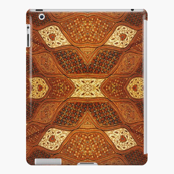 pattern, design, tracery, weave iPad Snap Case