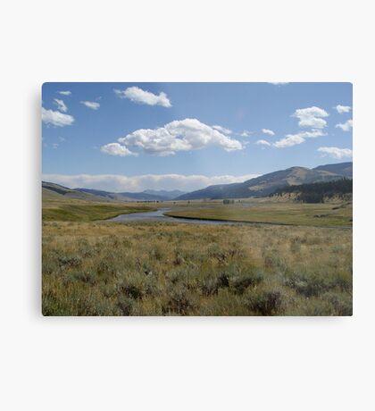 Yellowstone River Metal Print