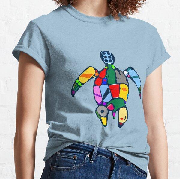 Turtle- ocean plastics Classic T-Shirt