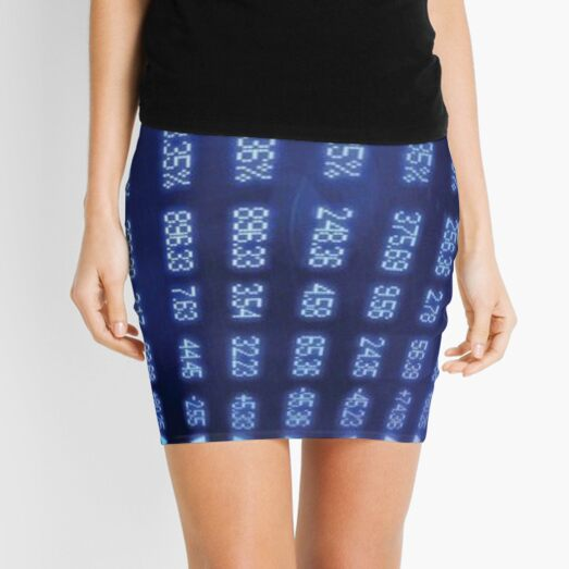 Numbers Mini Skirt