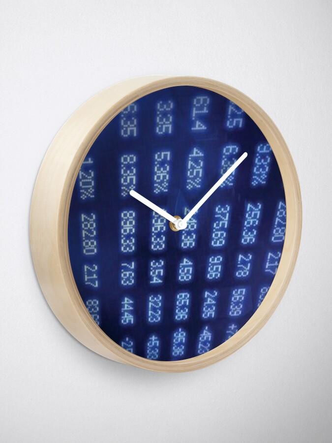 Alternate view of Numbers Clock