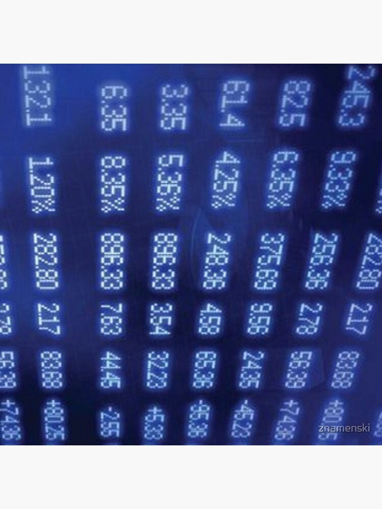 Numbers by znamenski