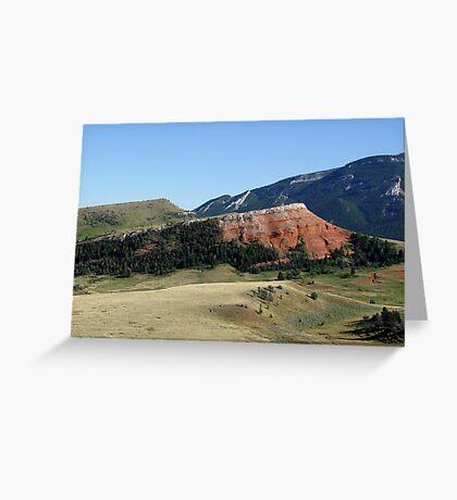 Pipestone Butte Greeting Card