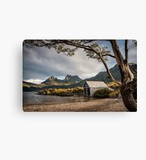 The Dove Lake Boathouse Canvas Print