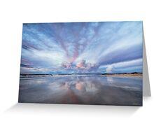 Sunset Blush Greeting Card