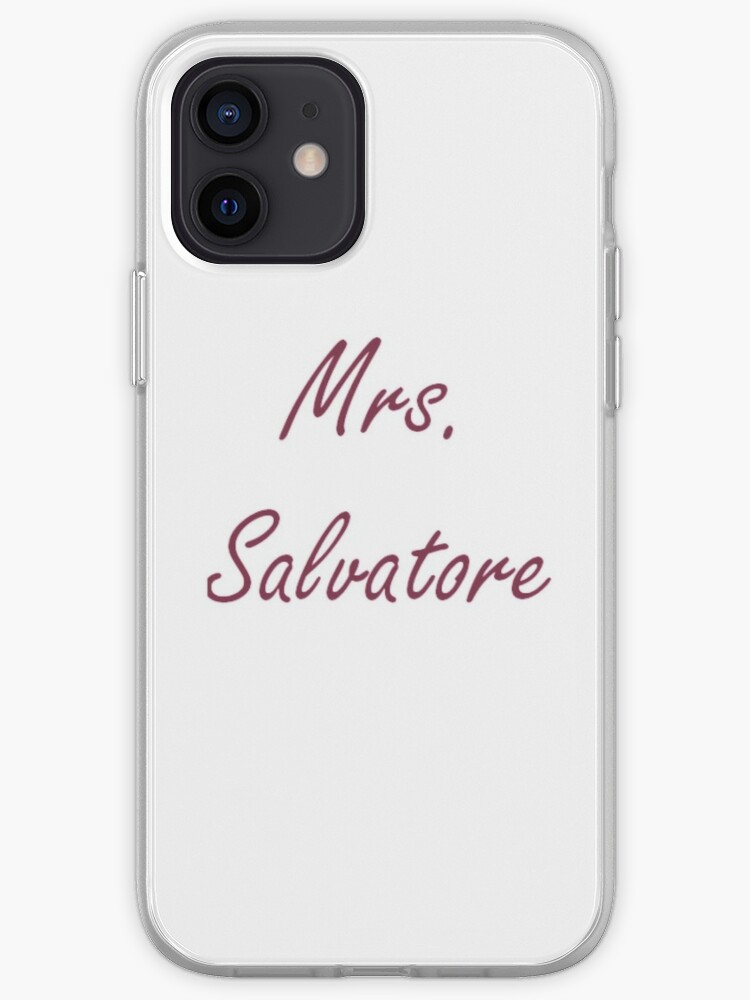 Mme Salvatore | Coque iPhone