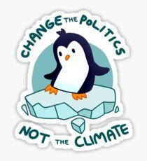 Pegatina Clima pingüino