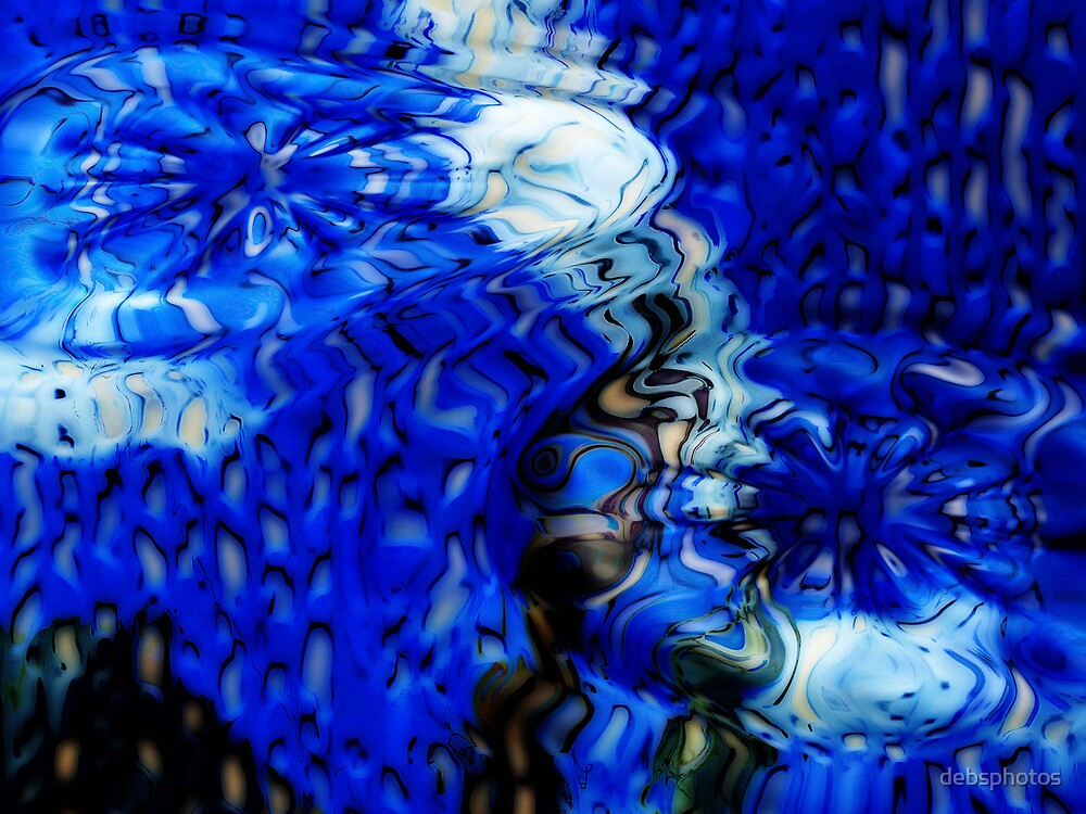 """'Abstract Blue"""" by debsphotos"""