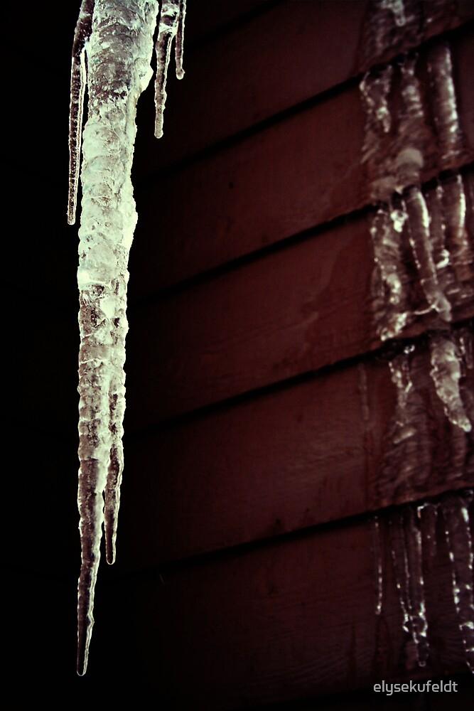 Giant Icecicle by elysekufeldt
