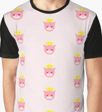 Princess Kitty Graphic T-Shirt