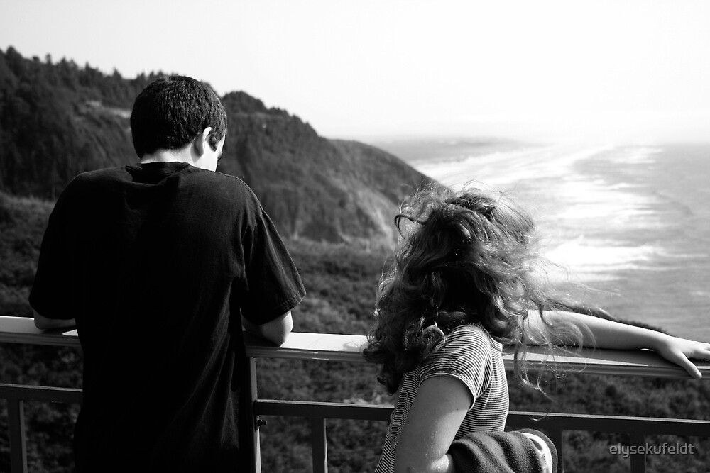 Observing the Oregon Coast by elysekufeldt