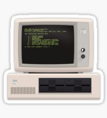 Material IBM PC Sticker
