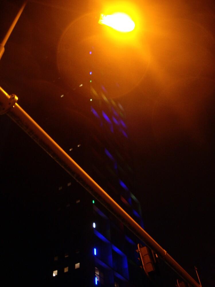 Tilburg at night by viba