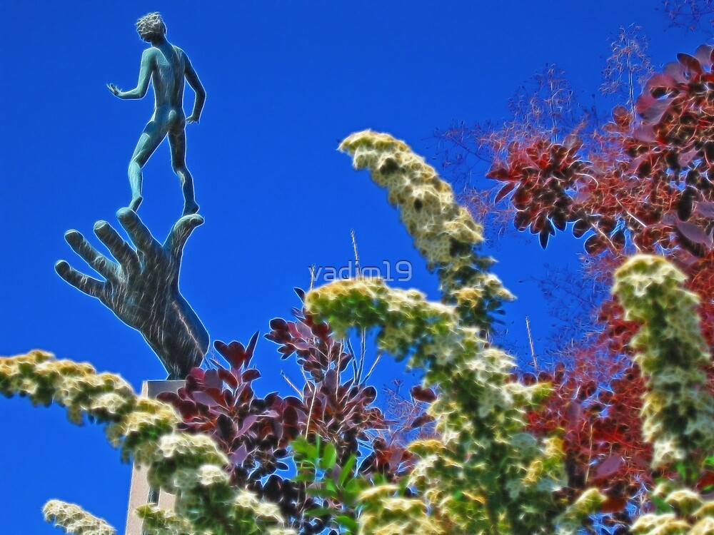 """""""The Hand of God"""" by Carl Milles, Stockholm, Sweden by vadim19"""