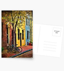 Autumn In Philly Postcards