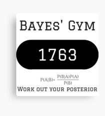 Bayes Gym 1763 Canvas Print