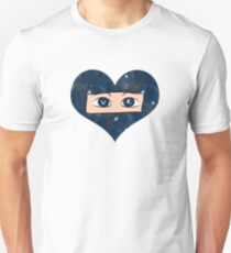 VR Space Heart (Virtual Reality) Unisex T-Shirt