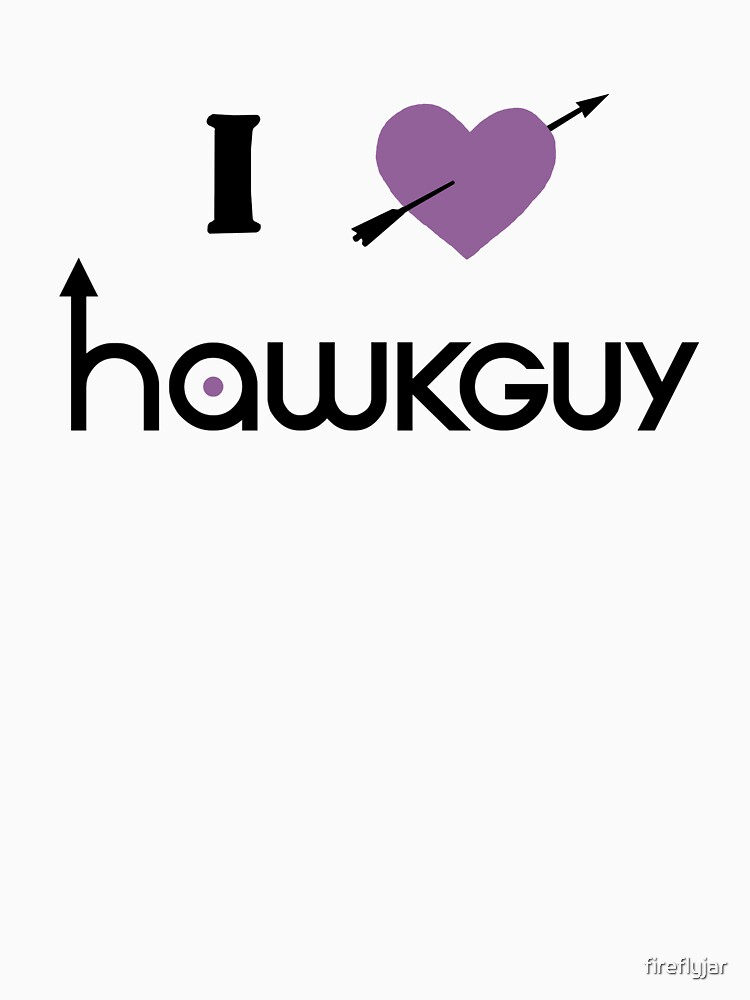 I heart Hawkguy (purple variant) | Women's T-Shirt