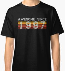 Awesome Since 1997 21 Years Old 21st Birthday Gift Classic T Shirt