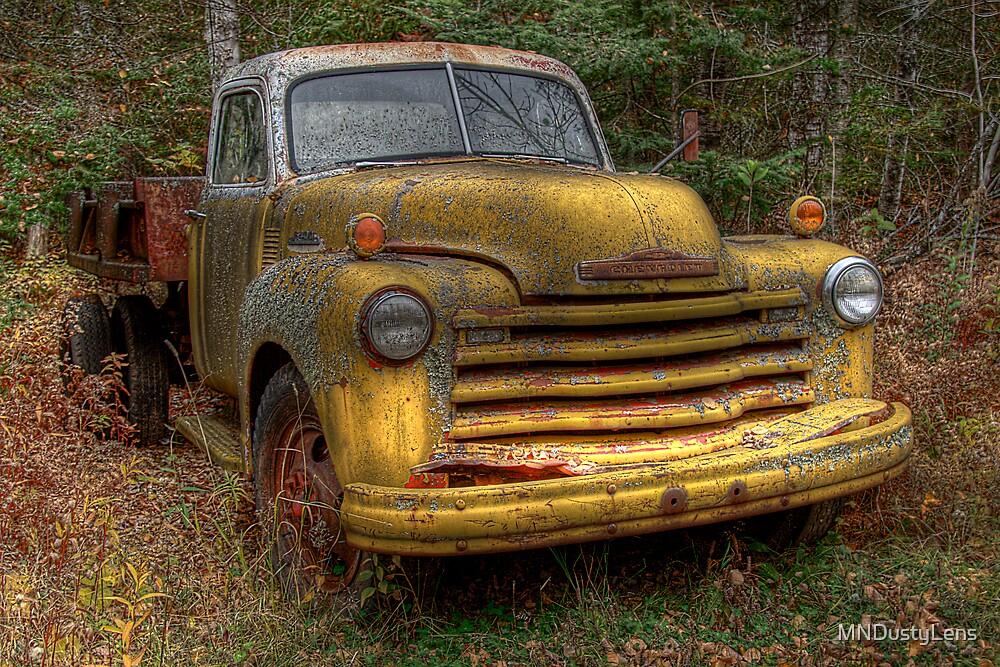 Yellow Truck by MNDustyLens