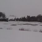 View of East Mains Castle & The Loch, East Kilbride by MagsWilliamson