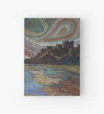 Banburgh Castle Embroidery - Textile Art Hardcover Journal
