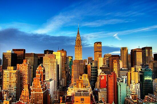 Manhattan Sunrise by vinaixa