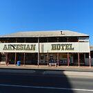 The Artesian Hotel, Barcaldine. Qld. by hans p olsen
