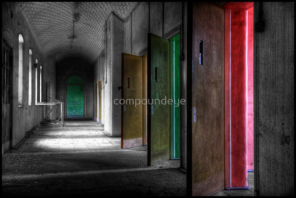 All the colours of madness... by compoundeye