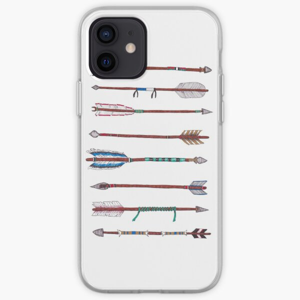 Eight Native Arrows iPhone Soft Case
