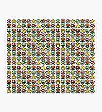 Pixel Power-ups Photographic Print