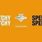 Spendy Spendy Mug - Overdraft Orange by DressageDaddy