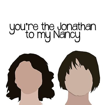 Jonathan to my Nancy. by glitteredgold
