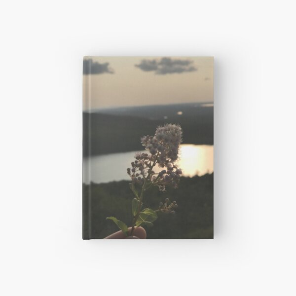 Flower Over Mountains Photo Hardcover Journal