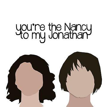 Nancy to my Jonathan. by glitteredgold