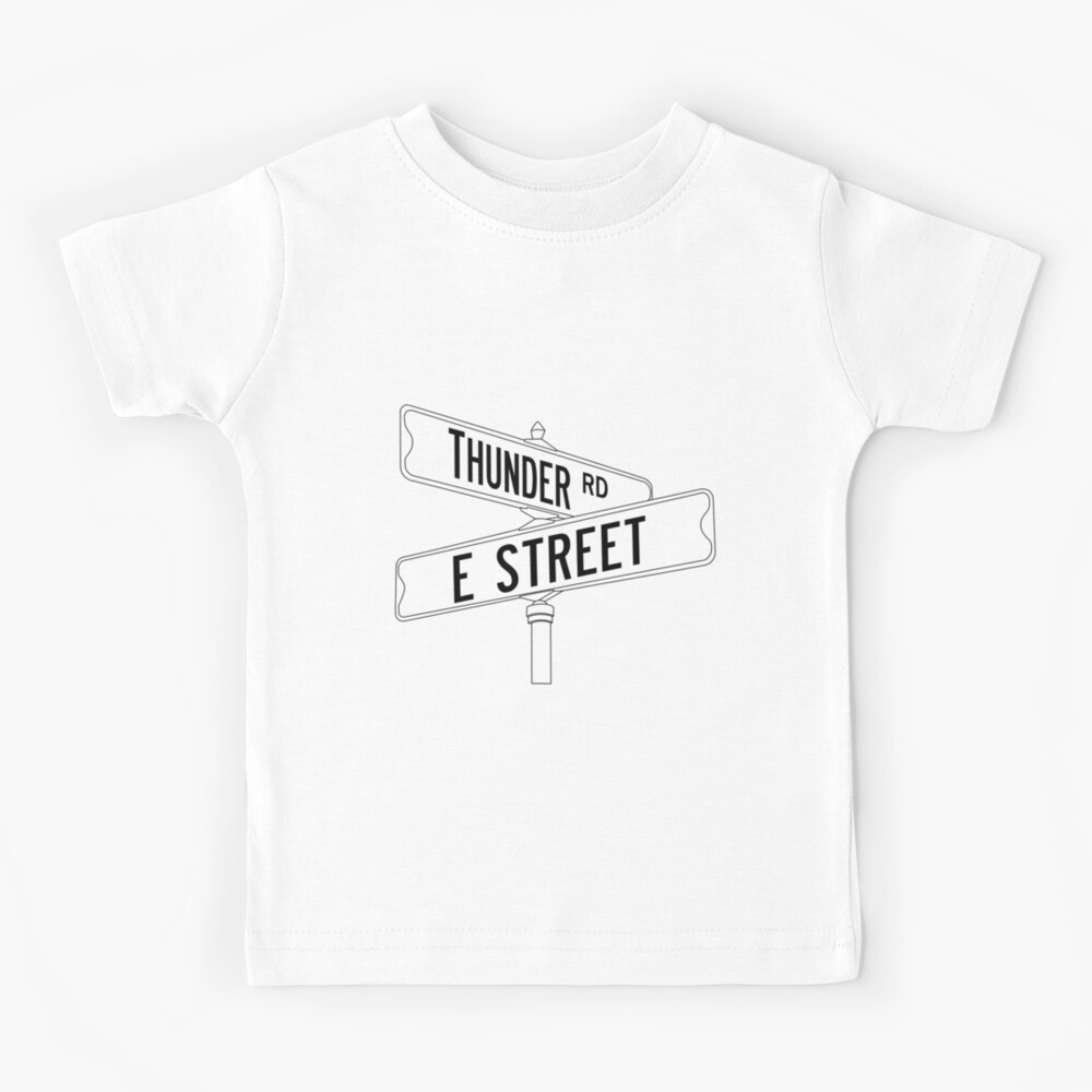 Bruce Springsteen and the E Street Band - Thunder Road Kids T-Shirt
