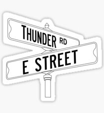 Pegatina Bruce Springsteen y la E Street Band - Thunder Road