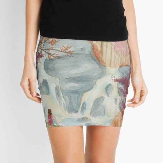 Water Fall Mini Skirt