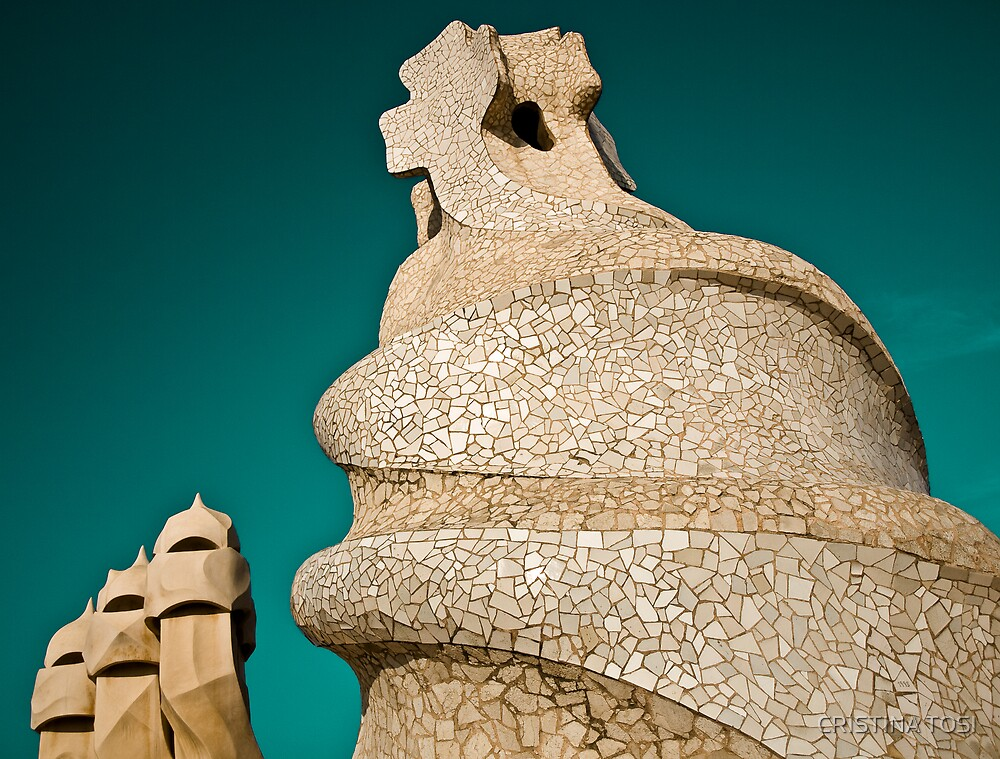 "Gaudi in ""La Pedrera"" by CRISTINA TOSI"