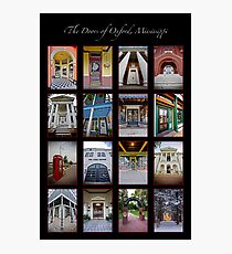 The Doors of Oxford, Mississippi Photographic Print