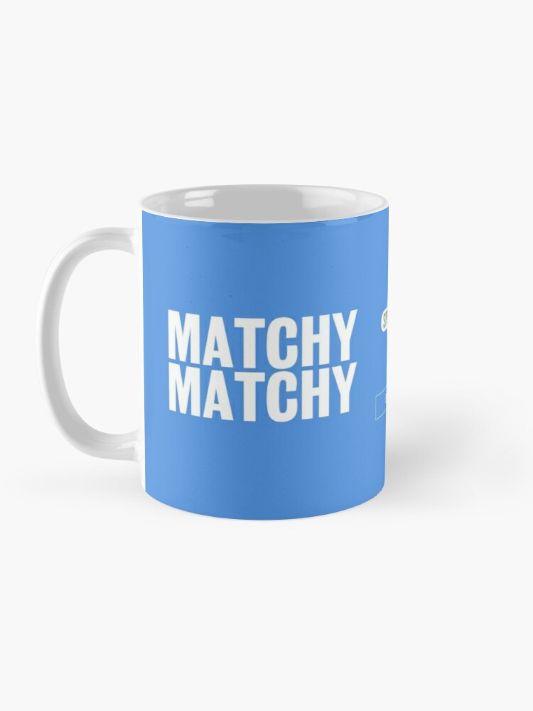 Alternate view of Spendy Spendy Mug - Bailiff Blue Mug