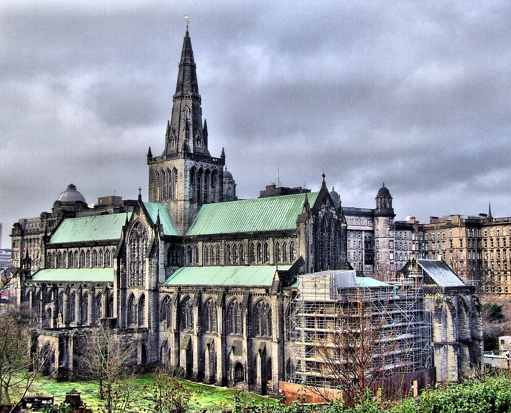 Glasgow Cathedral by davey lennox