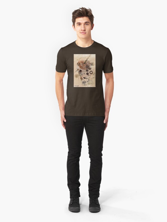 Alternate view of Time Flies By Slim Fit T-Shirt